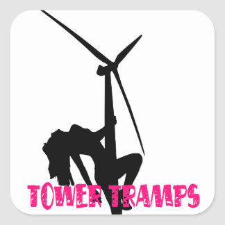 Tower Tramps Sticker