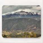 Towering over a Small Town Mousepad