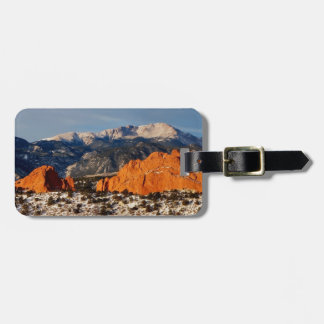 Towering Over the Monolith Luggage Tag