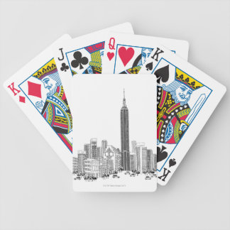 Towering Tower Bicycle Playing Cards