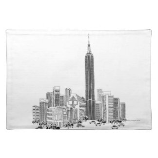 Towering Tower Placemat
