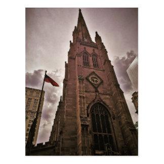 Towering Trinity Church Postcard
