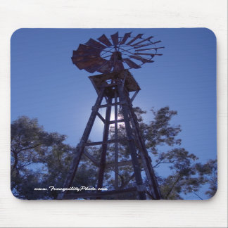 Towering Windmill Mouse Pads