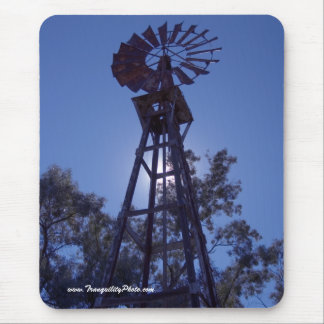 Towering Windmill Mouse Pad