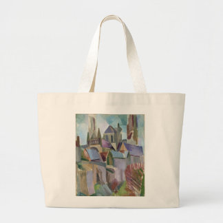 Towers of Laon, 1912 Large Tote Bag