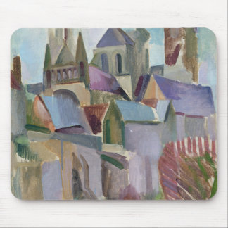 Towers of Laon, 1912 Mouse Mat