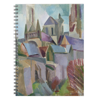 Towers of Laon, 1912 Spiral Notebook