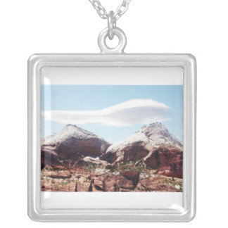 Towers of the Virgin at Zion National Park Pendants