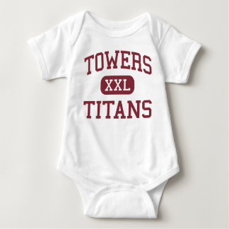 Towers - Titans - High School - Decatur Georgia Baby Bodysuit