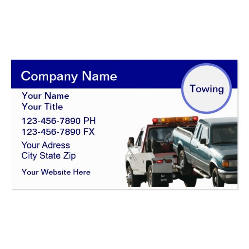 Create Your Own Truck Driver Business Cards - Page2