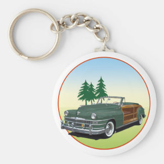 Town and Country Key Ring