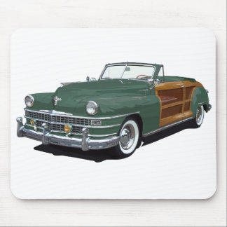 Town and Country Mouse Mat