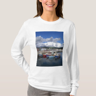 Town and Harbour, Dingle, County Kerry, T-Shirt