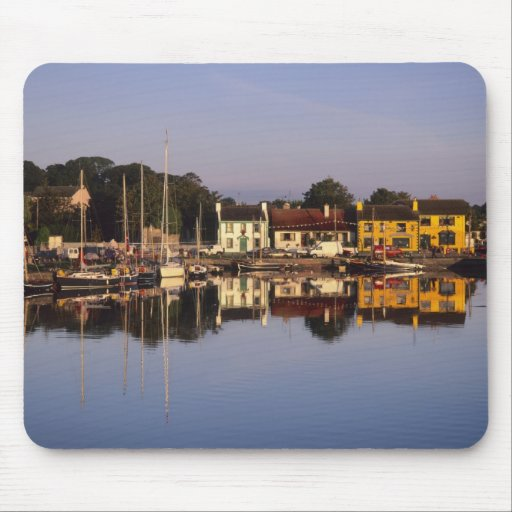 Town and harbour, Kinvarra, County Galway, Mouse Pads