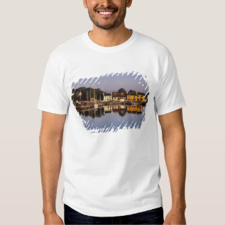 Town and harbour, Kinvarra, County Galway, Tshirt