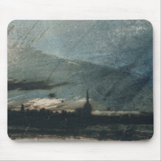 Town at Dusk Mouse Pad