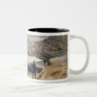 Town Batteries, or Interior Fortifications of Seba Two-Tone Coffee Mug