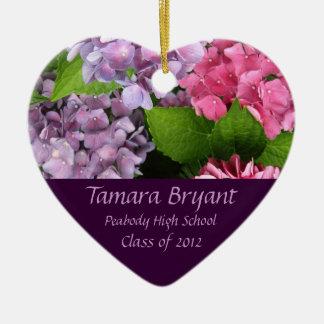 Town Class of 2012 Heart Keepsake Ceramic Heart Decoration