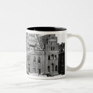 Town Hall, Breslau  Poland, c.1910 Two-Tone Coffee Mug