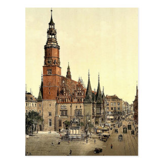 Town hall, Breslau, Silesia, Germany (i.e., Wrocla Post Card