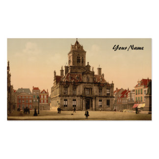 Town Hall, Delft, Netherlands Pack Of Standard Business Cards