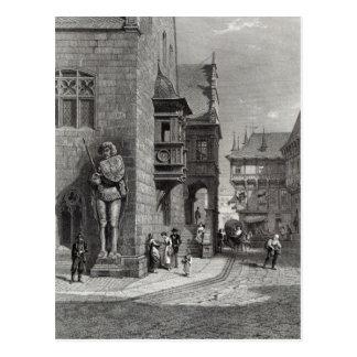 Town Hall, Halberstadt Postcard