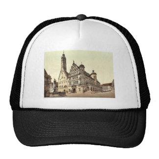 Town Hall, Rothenburg (i.e. ob der Tauber), Bavari Hats