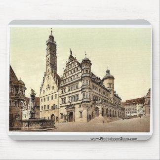 Town Hall Rothenburg i e ob der Tauber Bavari Mousepad