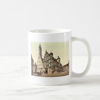 Town Hall, Rothenburg (i.e. ob der Tauber), Bavari Basic White Mug