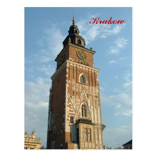 Town Hall Tower Post Card