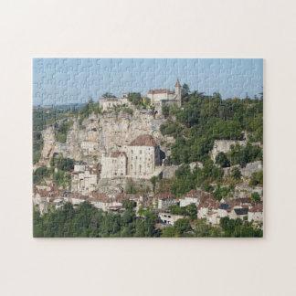 Town landscape puzzle