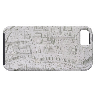 Town map of Constantinople, Turkey, c.1650 (engrav iPhone 5 Covers