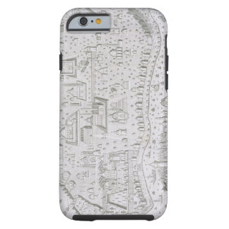 Town map of Constantinople, Turkey, c.1650 (engrav Tough iPhone 6 Case