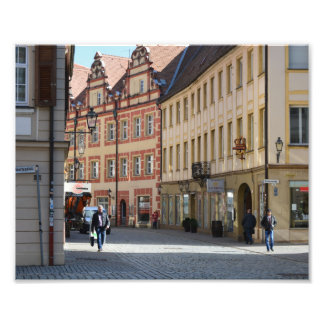 Town of Ansbach Germany Photo Print
