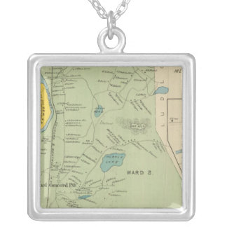 Town of Concord W Concord PO Silver Plated Necklace