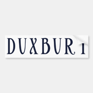 Town of Duxbury MA Bumper Sticker