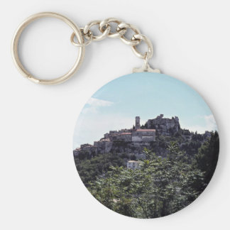 Town of Eze French Riviera Key Chain