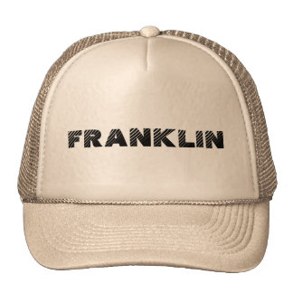 town of franklin cap