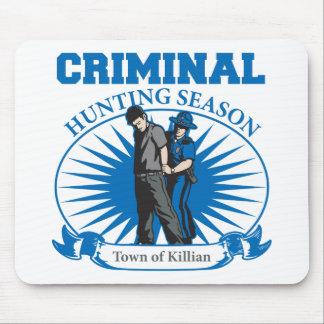 Town Of Killian Louisiana Criminal Hunting Season Mouse Pads