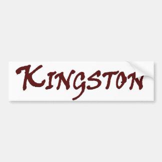 Town of Kingston MA Bumper Sticker