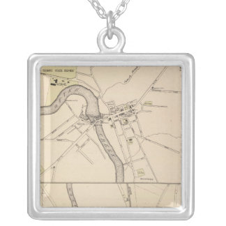 Town of Middlebury Silver Plated Necklace
