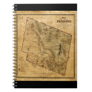 Town of Plymouth Windsor County Vermont (1859) Notebook