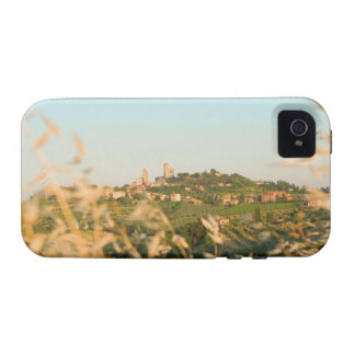 Town on a hill, San Gimignano, Siena Province, 2 iPhone 4/4S Cover
