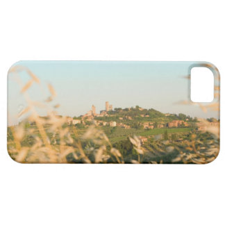 Town on a hill, San Gimignano, Siena Province, 2 iPhone 5 Cases