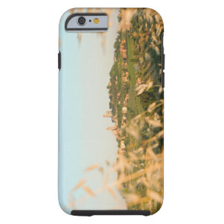 Town on a hill, San Gimignano, Siena Province, 2 Tough iPhone 6 Case