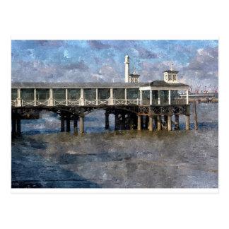 Town Pier, Gravesend, Kent, England Postcard