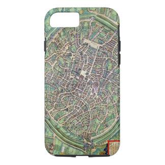 Town Plan of Bruges, from 'Civitates Orbis Terraru iPhone 8/7 Case