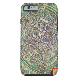 Town Plan of Bruges, from 'Civitates Orbis Terraru Tough iPhone 6 Case