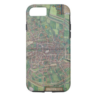 Town Plan of Brussels, from 'Civitates Orbis Terra iPhone 7 Case