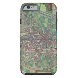 Town Plan of Brussels, from 'Civitates Orbis Terra Tough iPhone 6 Case